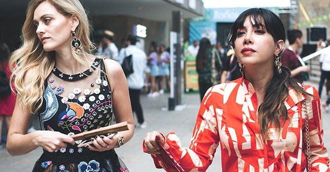 Icona Tatiana e Ita María: un día en la vida de las trend lovers durante un fashion week