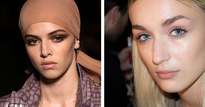 Los mejores looks de maquillaje de las semanas de la moda de Nueva York y Londres SS 2019