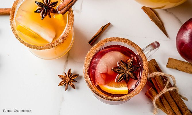 5 cócteles navideños para sorprender a tus invitados