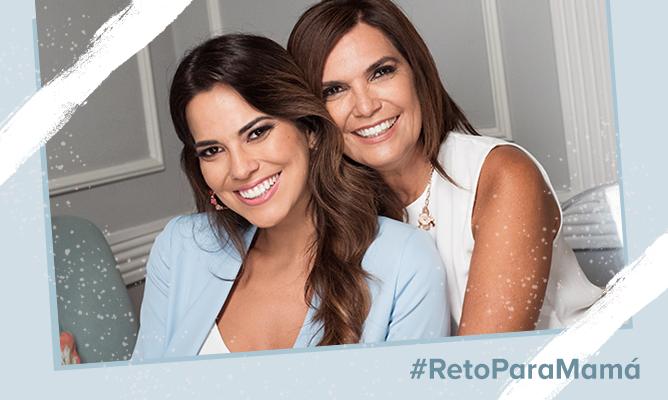 #RetoParaMamá: Mi mamá me maquilla