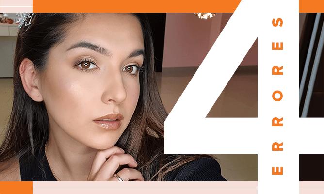 4 errores de maquillaje que solemos cometer