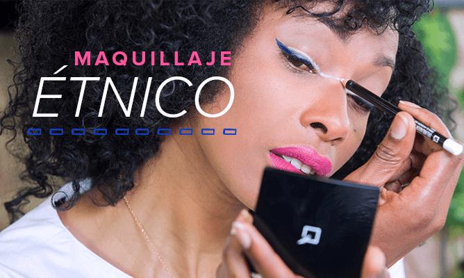 Maquillaje étnico para tus eventos