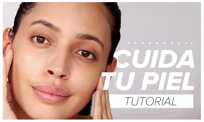Cuida tu piel en 3 pasos