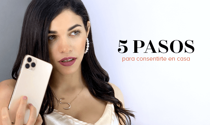 Tiempo para ti: 5 pasos para consentirte en casa