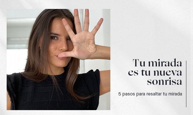 5 pasos para resaltar tu mirada usando mascarilla