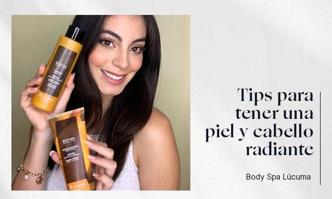 Tips para tener una piel y cabello radiante