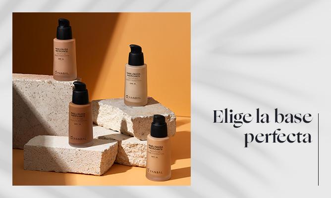 ¿Cómo elegir tu base de maquillaje según tu piel?