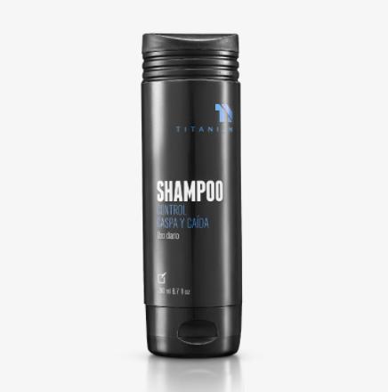 Titanium Shampoo Control Caspa y Caída