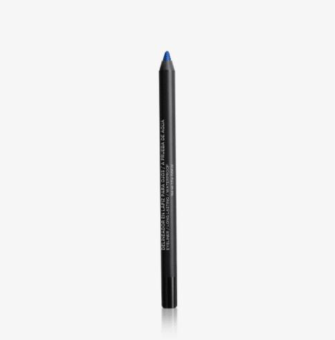 Delineador Lápiz Larga Duración Ojos Azulino Metálico
