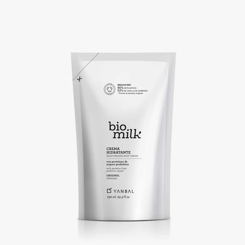 Repuesto Crema Hidratante Bio Milk Cuerpo Original